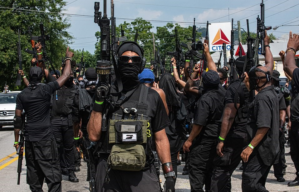 Black Militia Assembles at World's Largest Pro-Slavery Monument – Tribune  of the People